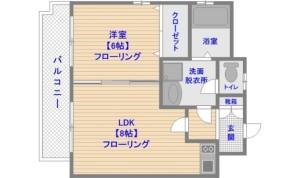 ガーデンコートけやき 1LDK 407号室